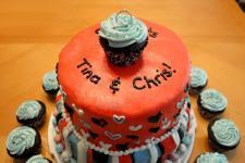 Engagement cake.