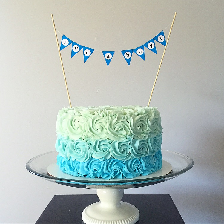 Its A Boy Baby Shower Cake Jcycakes