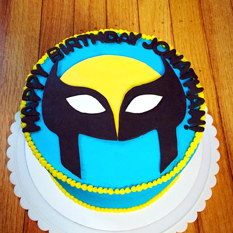 Terrific Wolverine Jcycakes Personalised Birthday Cards Veneteletsinfo